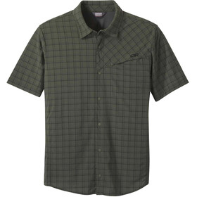 Outdoor Research Astroman Sun Shirt T-Shirt Heren, ivy